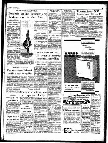 Rotterdamsch Parool / De Schiedammer 1962-09-15
