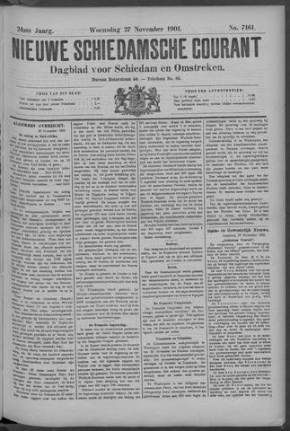 Nieuwe Schiedamsche Courant 1901-11-27
