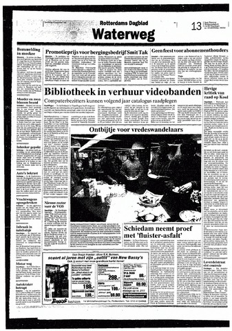 Rotterdamsch Nieuwsblad / Schiedamsche Courant / Rotterdams Dagblad / Waterweg / Algemeen Dagblad 1993-09-30