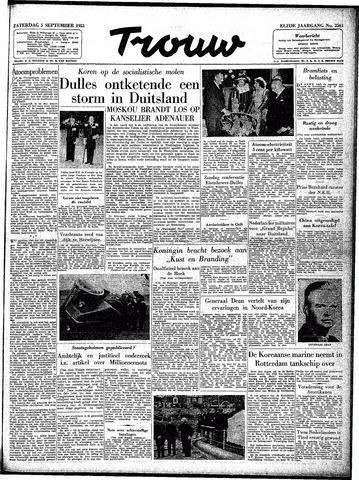 Trouw / De Rotterdammer 1953-09-05