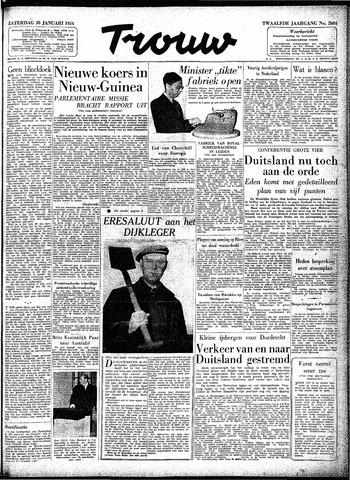 Trouw / De Rotterdammer 1954-01-30
