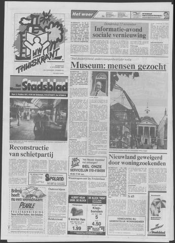 Het Nieuwe Stadsblad 1990-11-21
