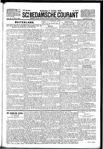 Schiedamsche Courant 1929-10-17