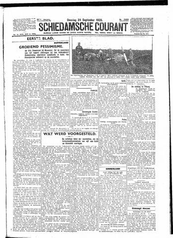 Schiedamsche Courant 1935-09-24
