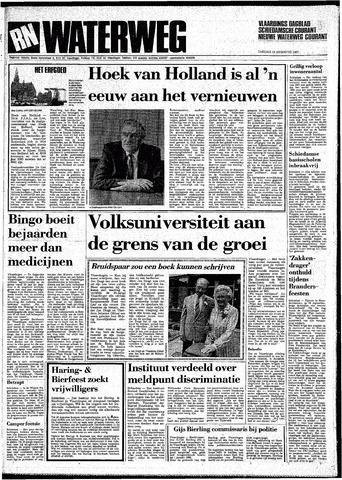 Rotterdamsch Nieuwsblad / Schiedamsche Courant / Rotterdams Dagblad / Waterweg / Algemeen Dagblad 1987-08-18