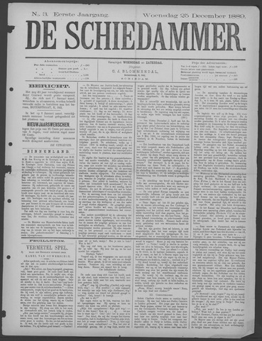 De Schiedammer 1889-12-25