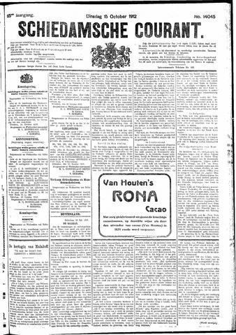 Schiedamsche Courant 1912-10-15
