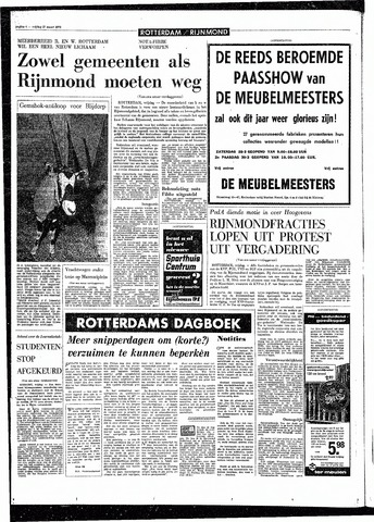 Rotterdamsch Parool / De Schiedammer 1970-03-27