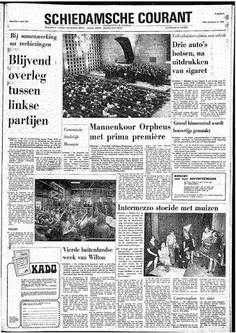 Rotterdamsch Nieuwsblad / Schiedamsche Courant / Rotterdams Dagblad / Waterweg / Algemeen Dagblad 1974-04-08