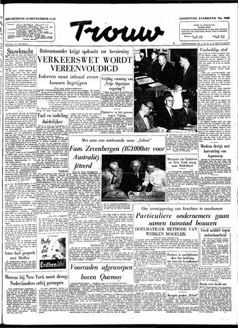 Trouw / De Rotterdammer 1958-09-18