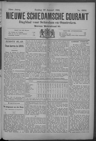 Nieuwe Schiedamsche Courant 1901-01-20