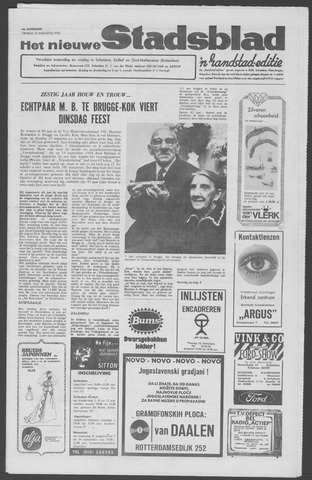 Het Nieuwe Stadsblad 1970-08-21