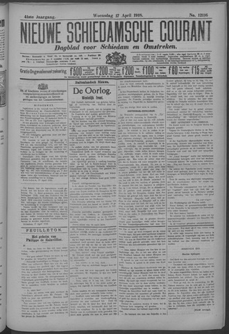 Nieuwe Schiedamsche Courant 1918-04-17