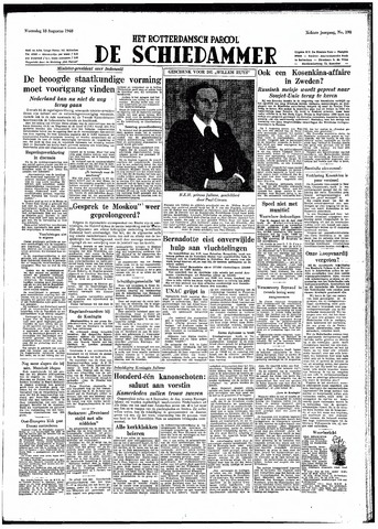 Rotterdamsch Parool / De Schiedammer 1948-08-18