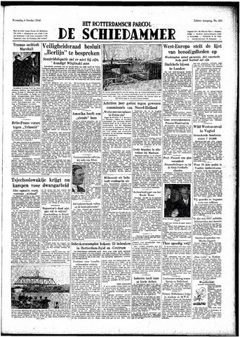 Rotterdamsch Parool / De Schiedammer 1948-10-06