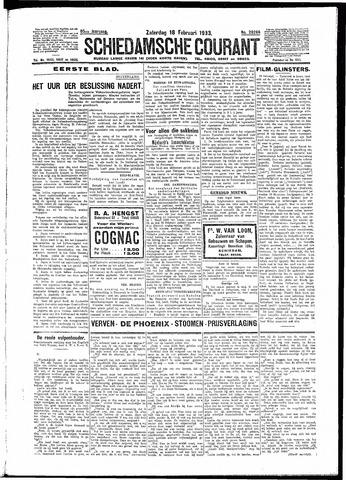 Schiedamsche Courant 1933-02-18