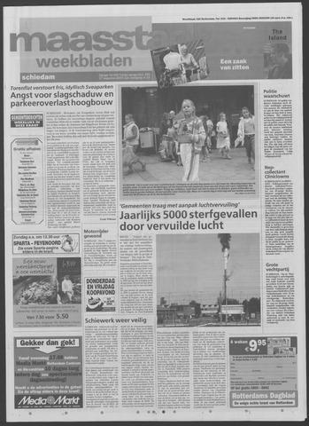 Maaspost / Maasstad / Maasstad Pers 2005-08-17