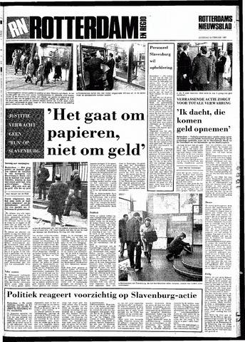 Rotterdamsch Nieuwsblad / Schiedamsche Courant / Rotterdams Dagblad / Waterweg / Algemeen Dagblad 1983-02-19