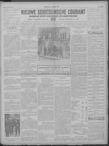 Nieuwe Schiedamsche Courant 1933-04-14