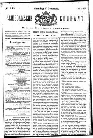 Schiedamsche Courant 1879-12-08