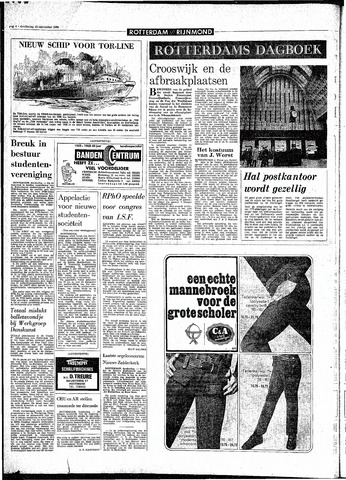 Rotterdamsch Parool / De Schiedammer 1968-09-19