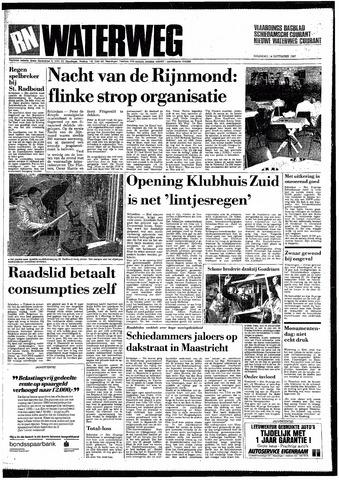 Rotterdamsch Nieuwsblad / Schiedamsche Courant / Rotterdams Dagblad / Waterweg / Algemeen Dagblad 1987-09-14