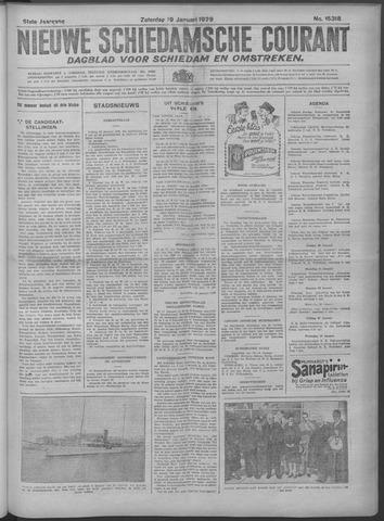 Nieuwe Schiedamsche Courant 1929-01-19