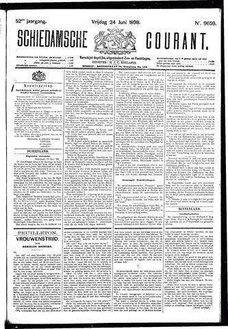 Schiedamsche Courant 1898-06-24