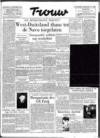Trouw / De Rotterdammer 1954-10-23
