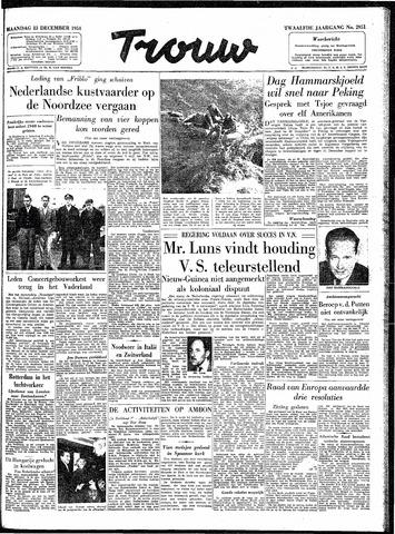 Trouw / De Rotterdammer 1954-12-13