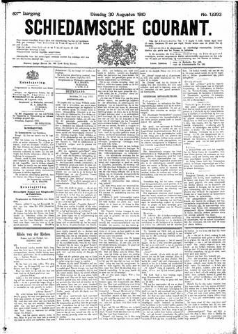 Schiedamsche Courant 1910-08-30