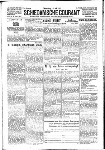 Schiedamsche Courant 1931-07-15