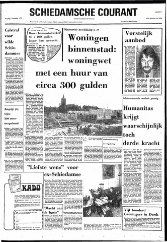 Rotterdamsch Nieuwsblad / Schiedamsche Courant / Rotterdams Dagblad / Waterweg / Algemeen Dagblad 1974-12-06