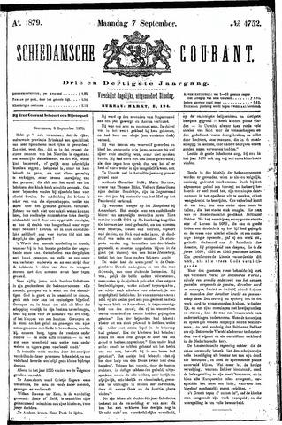 Schiedamsche Courant 1879-09-07