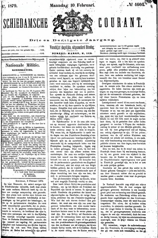 Schiedamsche Courant 1879-02-10