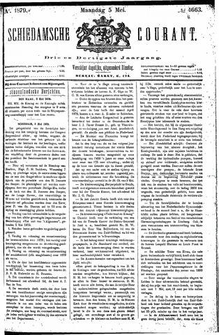 Schiedamsche Courant 1879-05-05