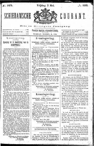 Schiedamsche Courant 1879-05-02