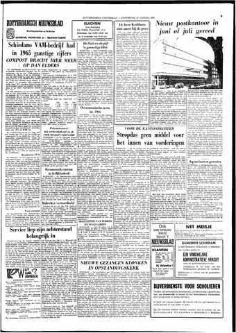 Rotterdamsch Nieuwsblad / Schiedamsche Courant / Rotterdams Dagblad / Waterweg / Algemeen Dagblad 1966-01-13