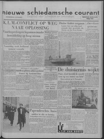Nieuwe Schiedamsche Courant 1958-03-20