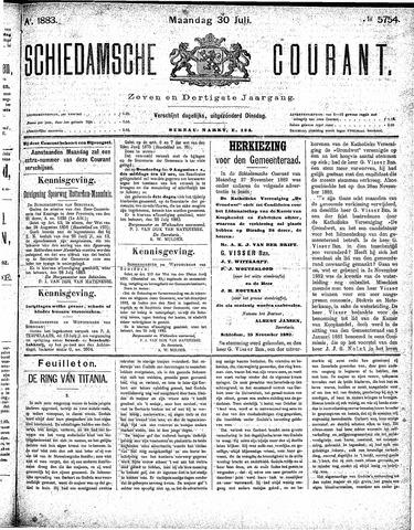 Schiedamsche Courant 1883-07-30