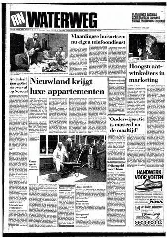 Rotterdamsch Nieuwsblad / Schiedamsche Courant / Rotterdams Dagblad / Waterweg / Algemeen Dagblad 1987-04-08