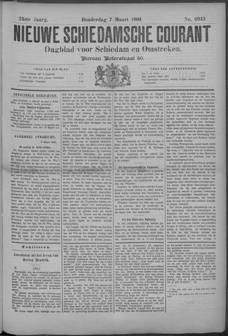 Nieuwe Schiedamsche Courant 1901-03-07