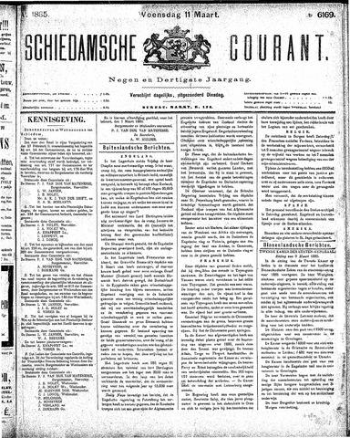 Schiedamsche Courant 1885-03-11