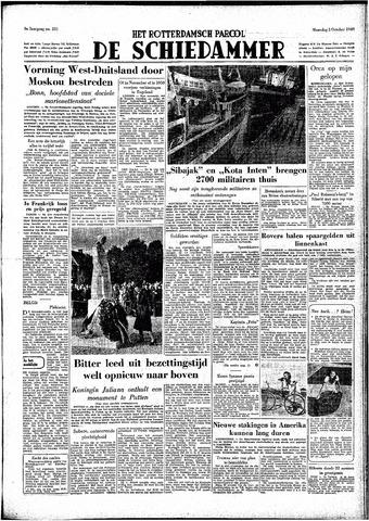 Rotterdamsch Parool / De Schiedammer 1949-10-03