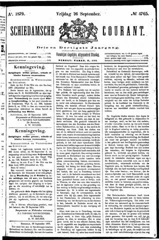 Schiedamsche Courant 1879-09-26