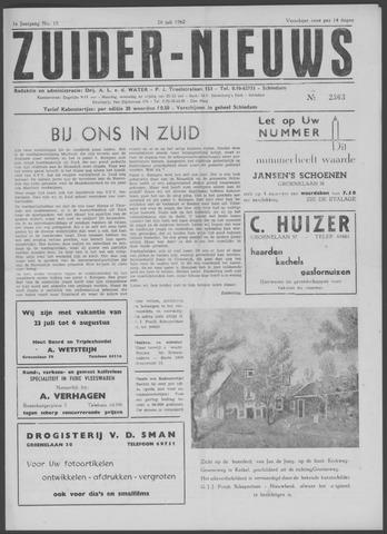 Zuider Nieuws 1962-07-26