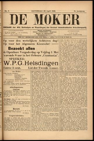De Moker 1908-04-25