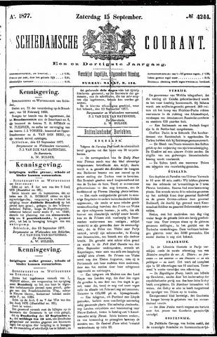 Schiedamsche Courant 1877-09-15