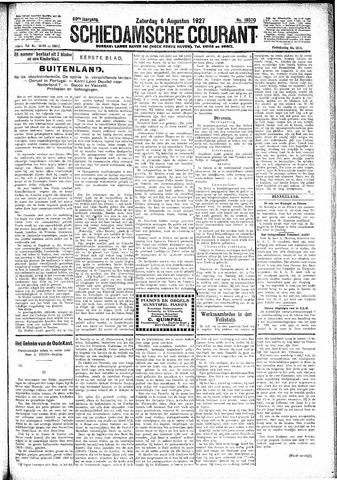 Schiedamsche Courant 1927-08-06