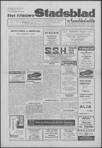 Het Nieuwe Stadsblad 1962-02-28